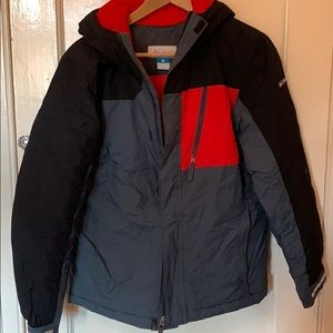 Boys Columbia warm winter coat